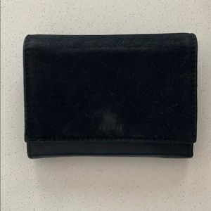 Leather / Suede Sézane Wallet